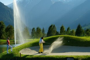 Zell am See, holiday apartment at the golf course