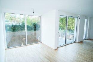 Wunderschöne 2 Zimmer Neubauwohnung mit Balkon ins Grüne - Hof/Ruhelage