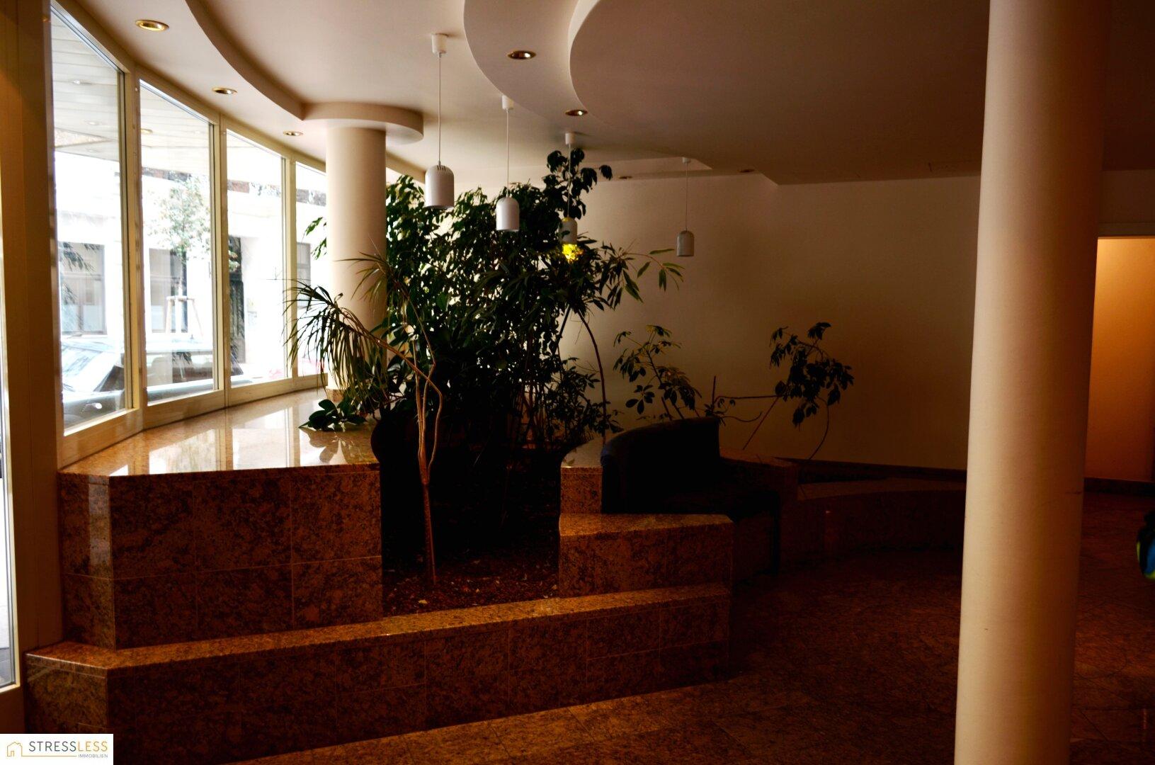 Eingang zum Lift