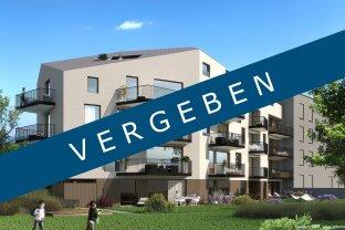 VERGEBEN - CITYresidence Hall - Top 4 - 3-Zi.-Terrassenwohnung