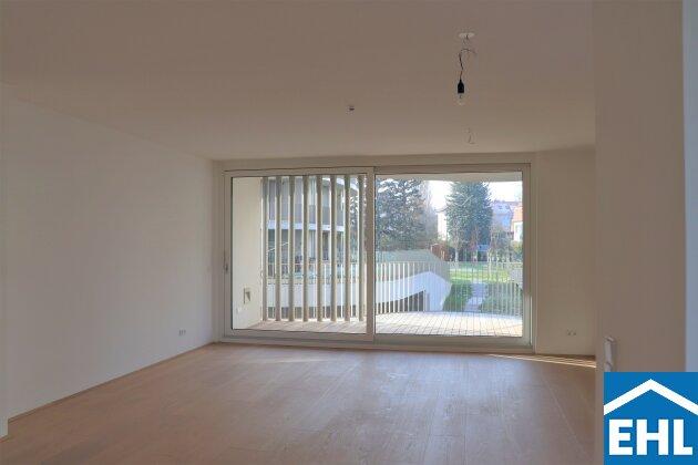 Erstbezug: 3-Zimmerwohnung mit großzügiger Terrasse am Rosenhügel