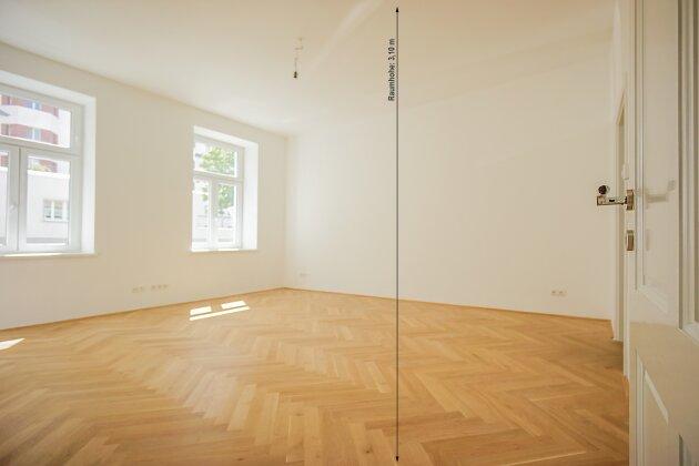 Foto von NEU ++ KERNSANIERT: Altbauwohnung ca. 100 m2, 3 Zimmer, nähe U6-Station Philadelphiabrücke, 1120 Wien ++