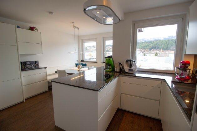 Küche-Blick Essbereich