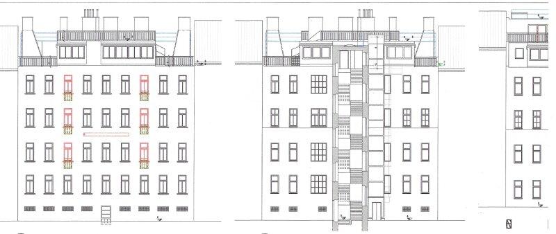 Terrassenhit über den Dächern, Neubau (Ausbau von Altbau) - schlüsselfertig, 19 m2 Terrasse, Nähe U6-Nußdorferstraße! /  / 1180Wien / Bild 10