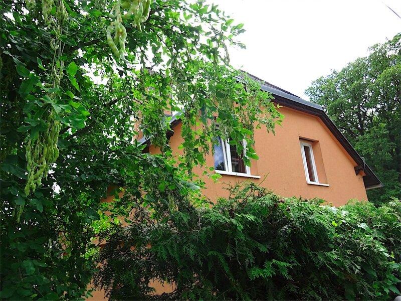 Grundstück mit Haus in herrlicher Grünruhelage, 730 m2,  modernisiertes Fachwerkhaus, Anbau oder zusätzlicher Bau möglich, Linie 43! /  / 1170Wien / Bild 6