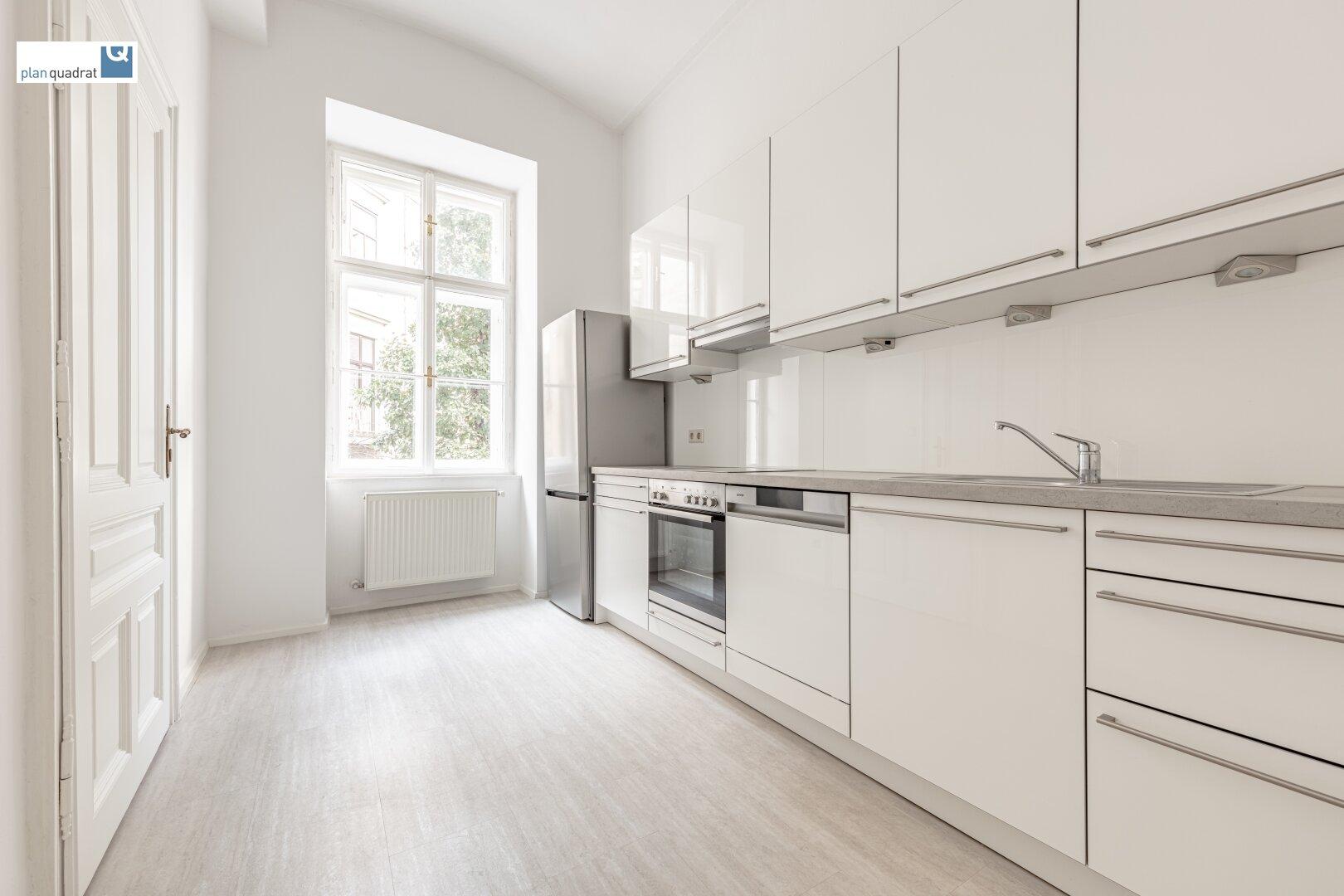 Küche (mit Küchenzeile inkl. Geräte)