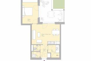 PROVISIONSFREI MIETEN - ZUKUNFT MUSS SMART SEIN - 2-Zimmer-Erstbezugswohnung