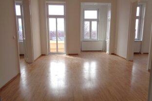 GROSSZÜGIGE, SEHR HELLE ALTBAUWOHNUNG - 103 m², kleine Loggia  * NÄHE PRATER / U1 + U2