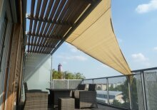 1030 - Niedrigenergie Designer-Dachterrassenwohnung für Singles und kinderlose Paare
