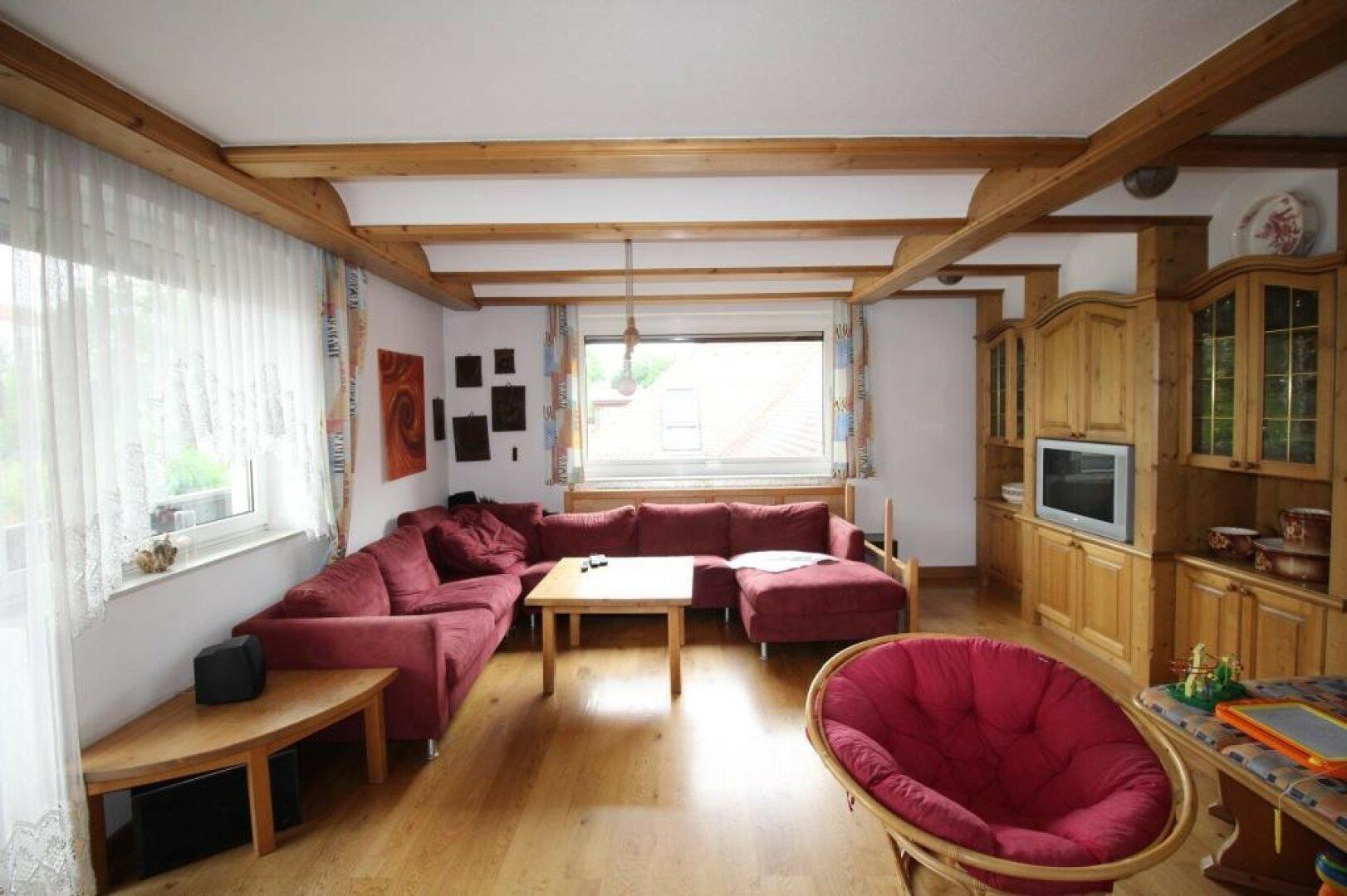 Wohnzimmer ca. 33 m²