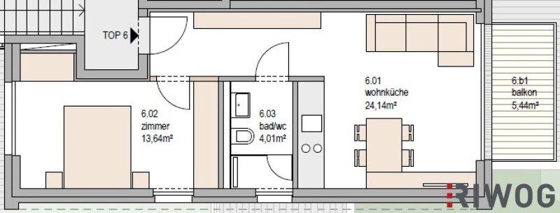 PIED A TERRE - wertstabil - hochwertig - glamourös - Top 6 mit Balkon /  / 1190Wien / Bild 3