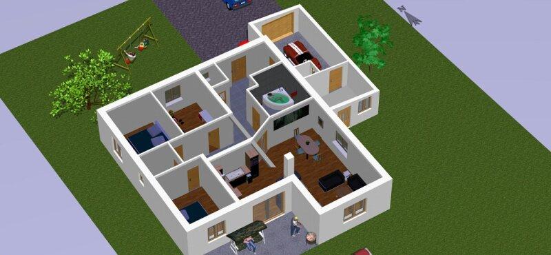 SCHLÜSSELFERTIGES EINFAMILIENHAUS!!! Ein aufgeschlossenes Baugrundstück muss vorhanden sein!! /  / 3950Gmünd / Bild 4