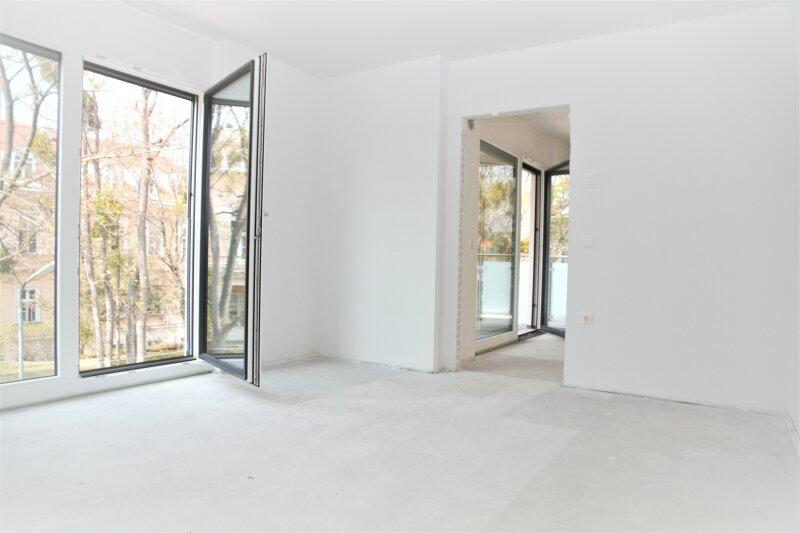 6,65 m² BALKON + 2 französ. Balkone, 38m²-Wohnküche + Schlafimmer, 2. Stock, Bj.2017 /  / 1190Wien / Bild 3