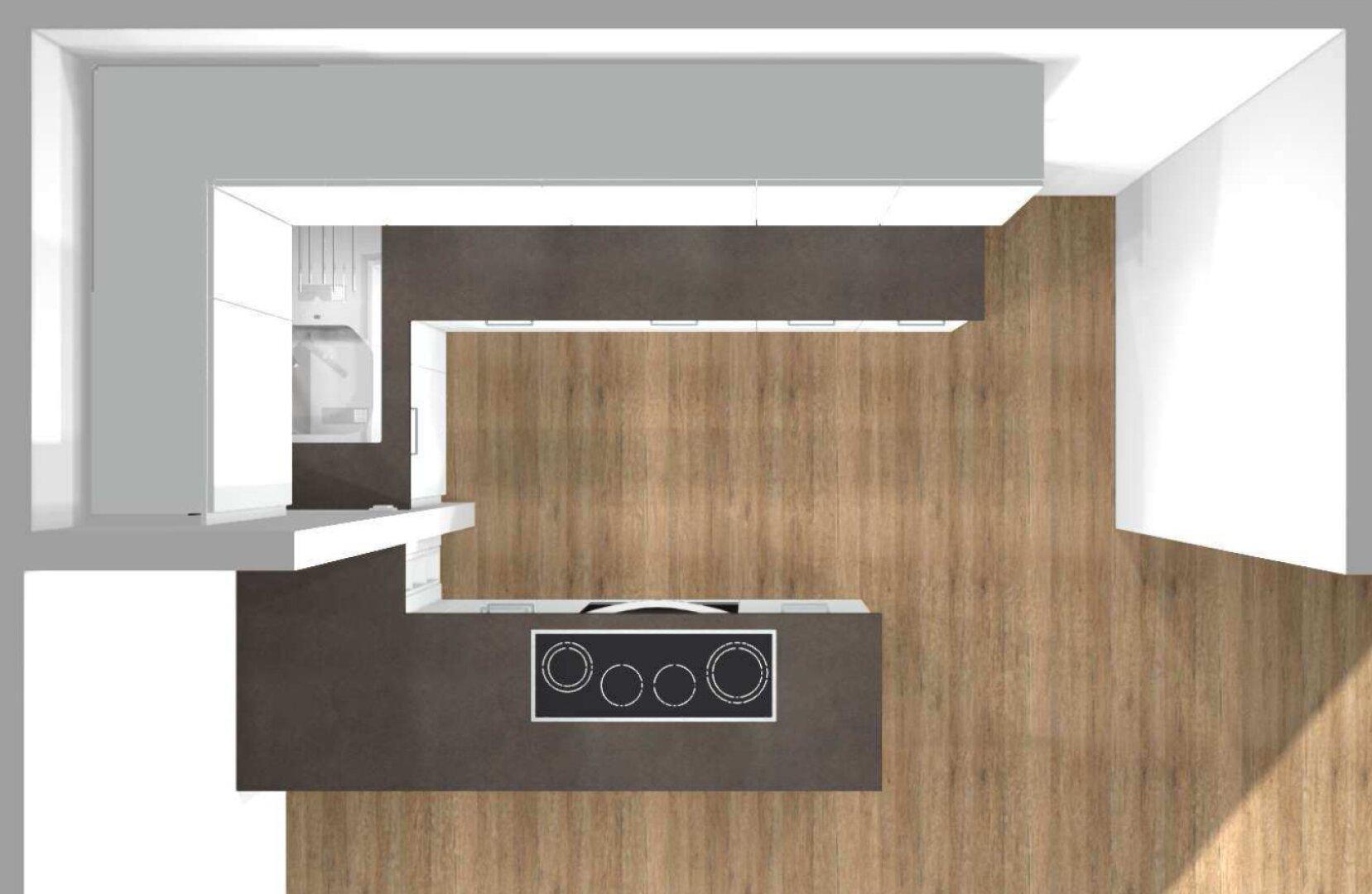 bestelle Küche (Visualisierung)