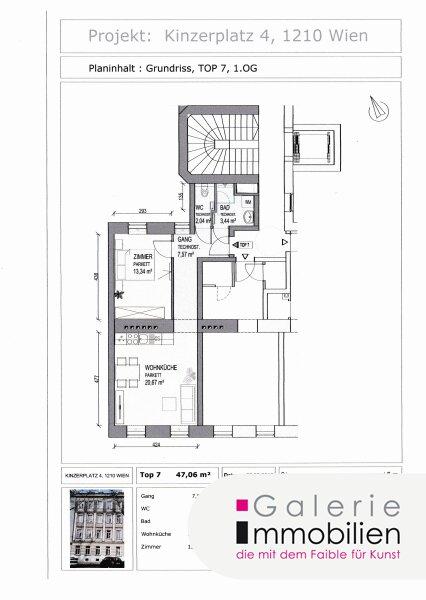Nähe Alte Donau - Zauberhafte Altbauwohnung mit SW-Ausrichtung in generalsaniertem Gründerzeithaus Objekt_31828 Bild_173