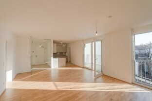 VIDEO-TOUR: ruhige 4 Zimmer-Wohnung mit Balkon in der Margaretenstraße 25 - ERSTBEZUG!