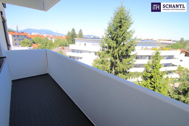 TOP! Renovierte 2-Zimmer Wohnung mit Balkon und tollem Graz-Blick!