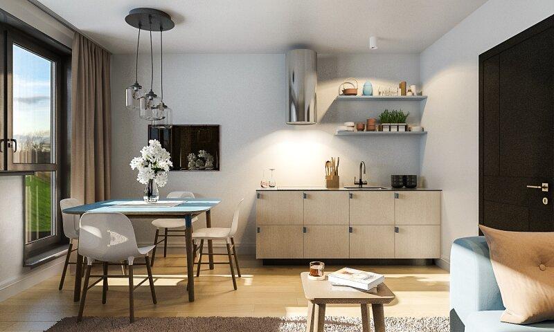 Provisionsfreier Erstbezug: moderne 3-Zimmer mit Loggia Wohnung in U2 Nähe!