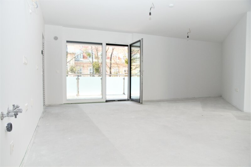 6,65 m² BALKON + 2 französ. Balkone, 38m²-Wohnküche + Schlafimmer, 2. Stock, Bj.2017 /  / 1190Wien / Bild 0