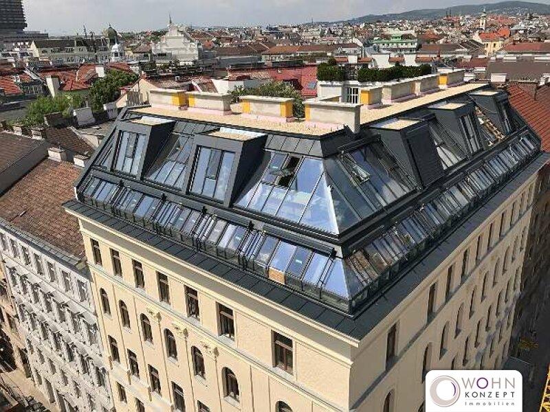DACHERSTBEZUG - EXKLUSIVER zentrumsnaher WOHNTRAUM auf 87m² mit Balkon - 1090 Wien