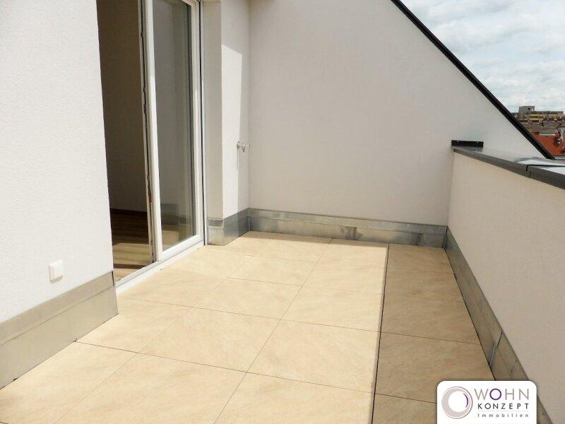 Erstbezug: 63m² Dachwohnung + 10m² Terrasse mit Klimanlage! /  / 1110Wien / Bild 2