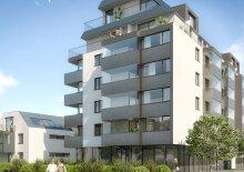 2-Zimmer-Erstbezugswohnung inkl Komplettküche, Balkon und Kellerabteil - Garagenplatz 79,00Euro ist mitzumieten/W1-28 OG3, 1-28