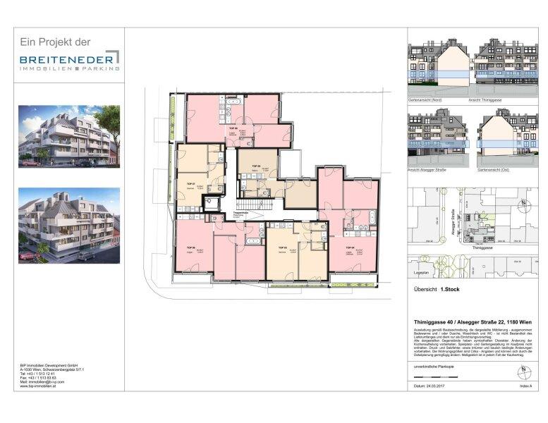 Thimiggasse 40 - Moderne Apartments in ruhiger Grünlage in Wien Gersthof /  / 1180Wien / Bild 5