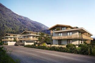 Wohnen im schönen Achental, hier entstehen drei moderne Blockhäuser mit insgesamt 25 Wohneinheiten - NUN STARTET AUCH DER VERKAUF VON HAUS B UND C