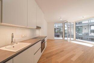 Erstbezug in der Piaristengasse: Hochwertige 2-Zimmer-Wohnung mit großer Freifläche in der Josefstadt *VIDEO*