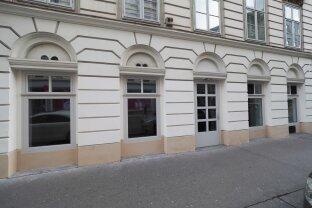 EG- Geschäftslokal auf der Gumpendorfer Straße