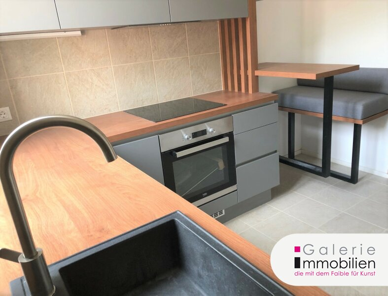 Entzückende 1-Zimmer Erkerwohnung - perfekt ausgestattet mit Eigengarten und Parkplatz Objekt_34995