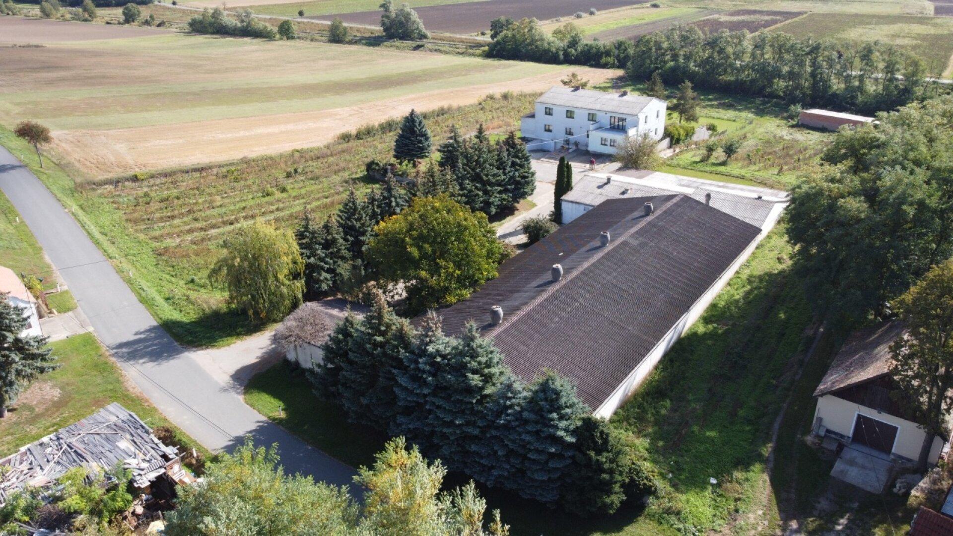 Reithalle und Wohnhaus Nähe Hollabrunn