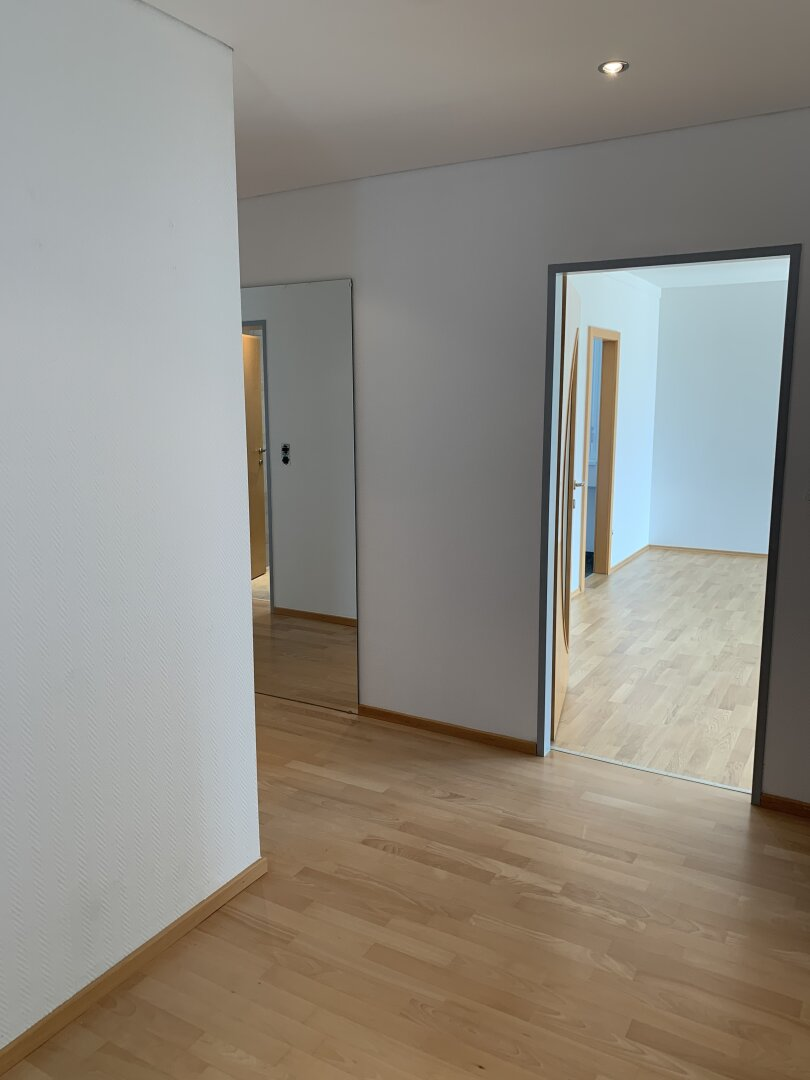 Eingangsbereich, Blick Wohnzimmer & Küche