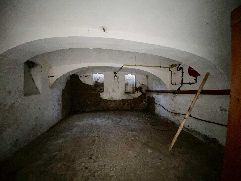 Keller mit Gaszufuhr