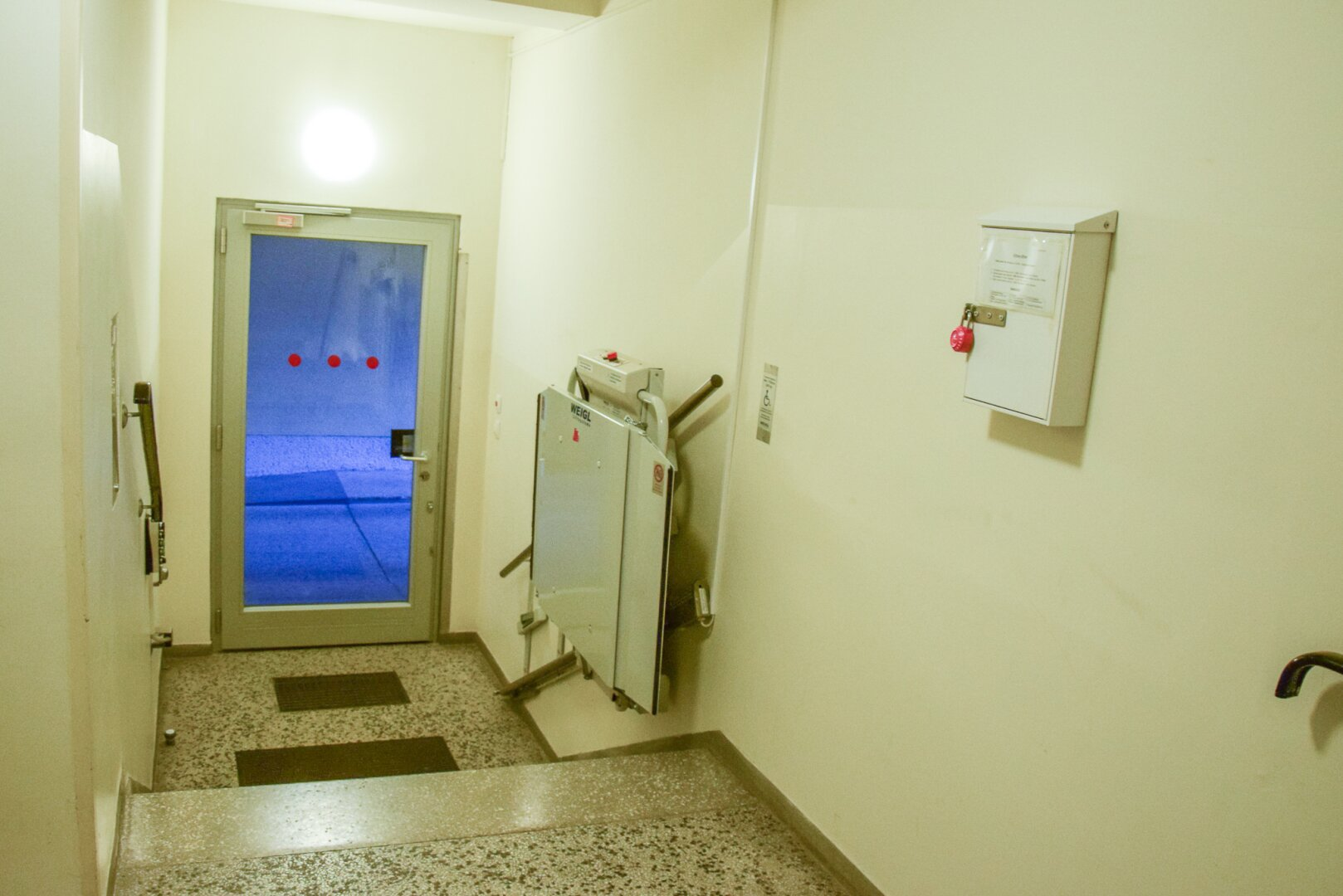 Eingangsbereich Treppenlift