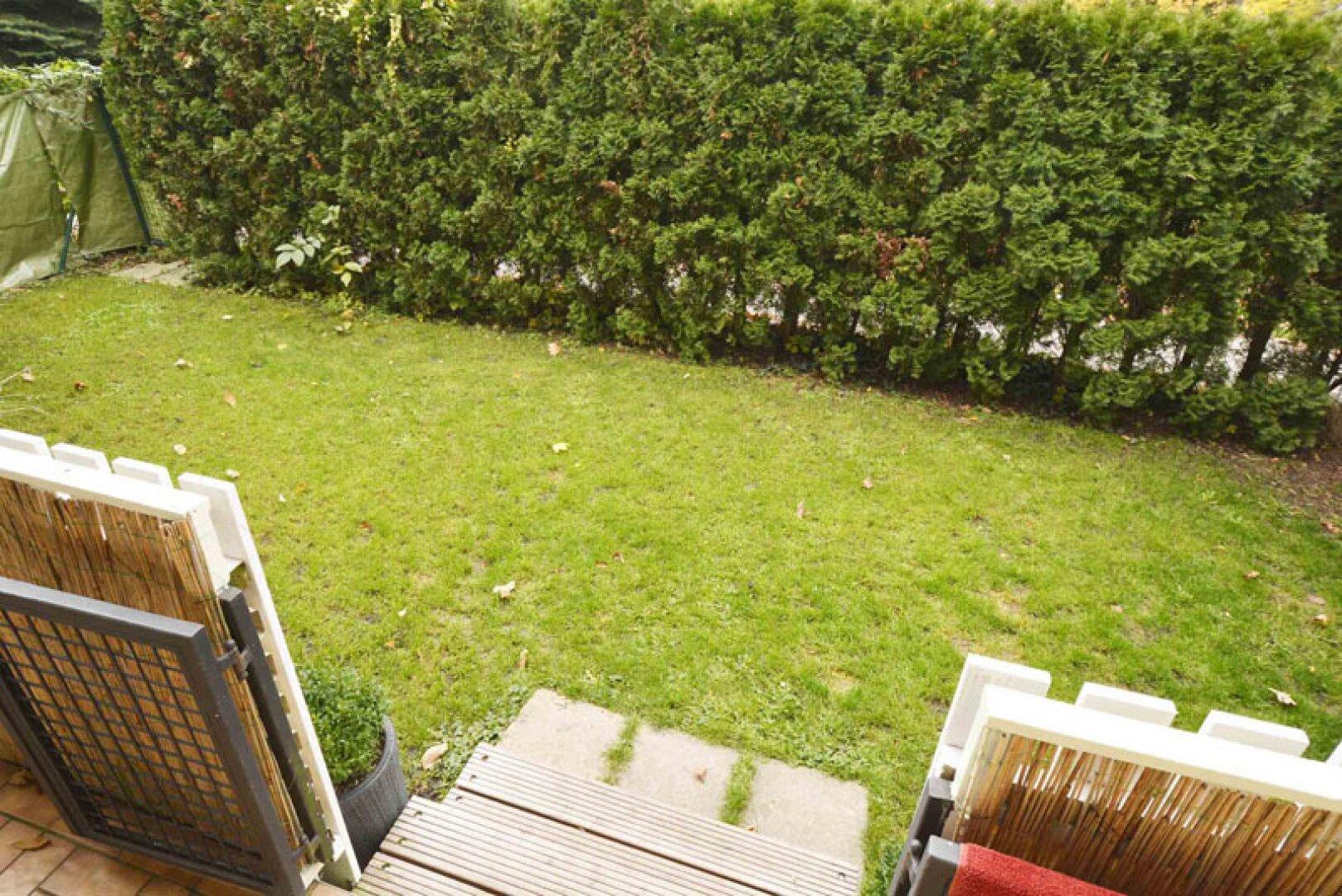 6. Gartenbereich