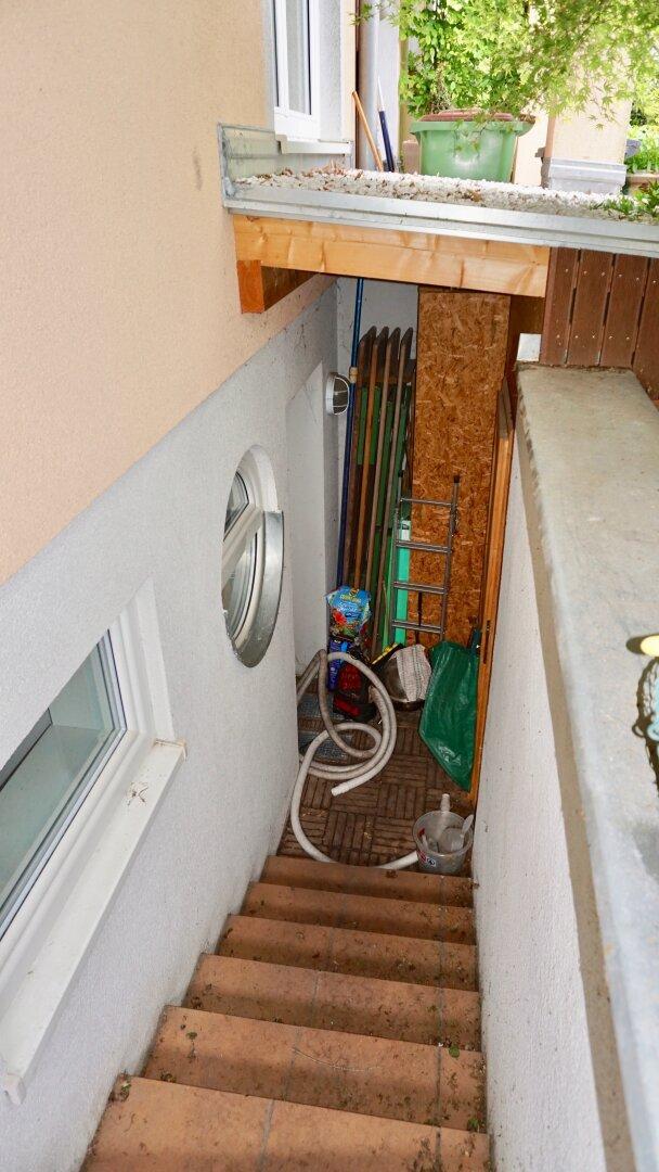 Kellerabgang - getrennter Hauszugang