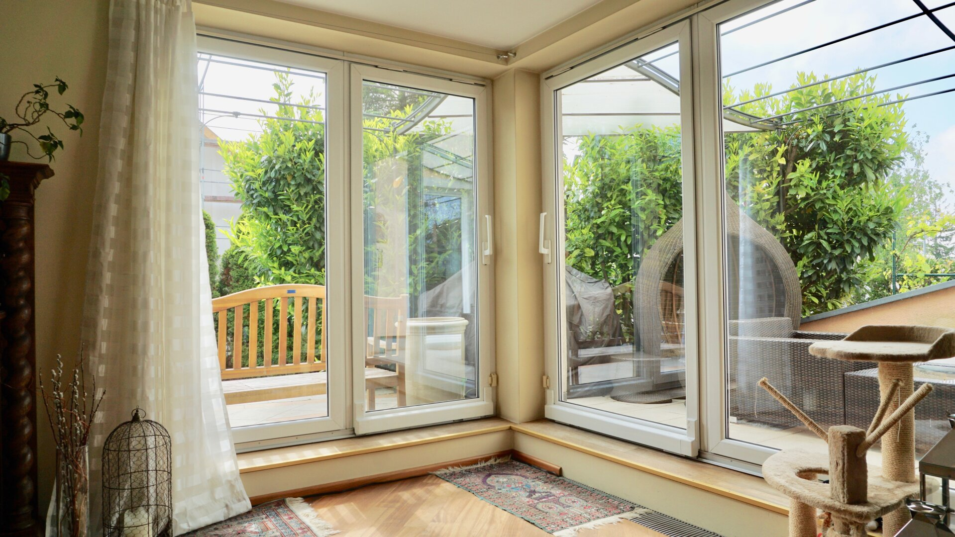 Wohnzimmer - Terrassenausgang