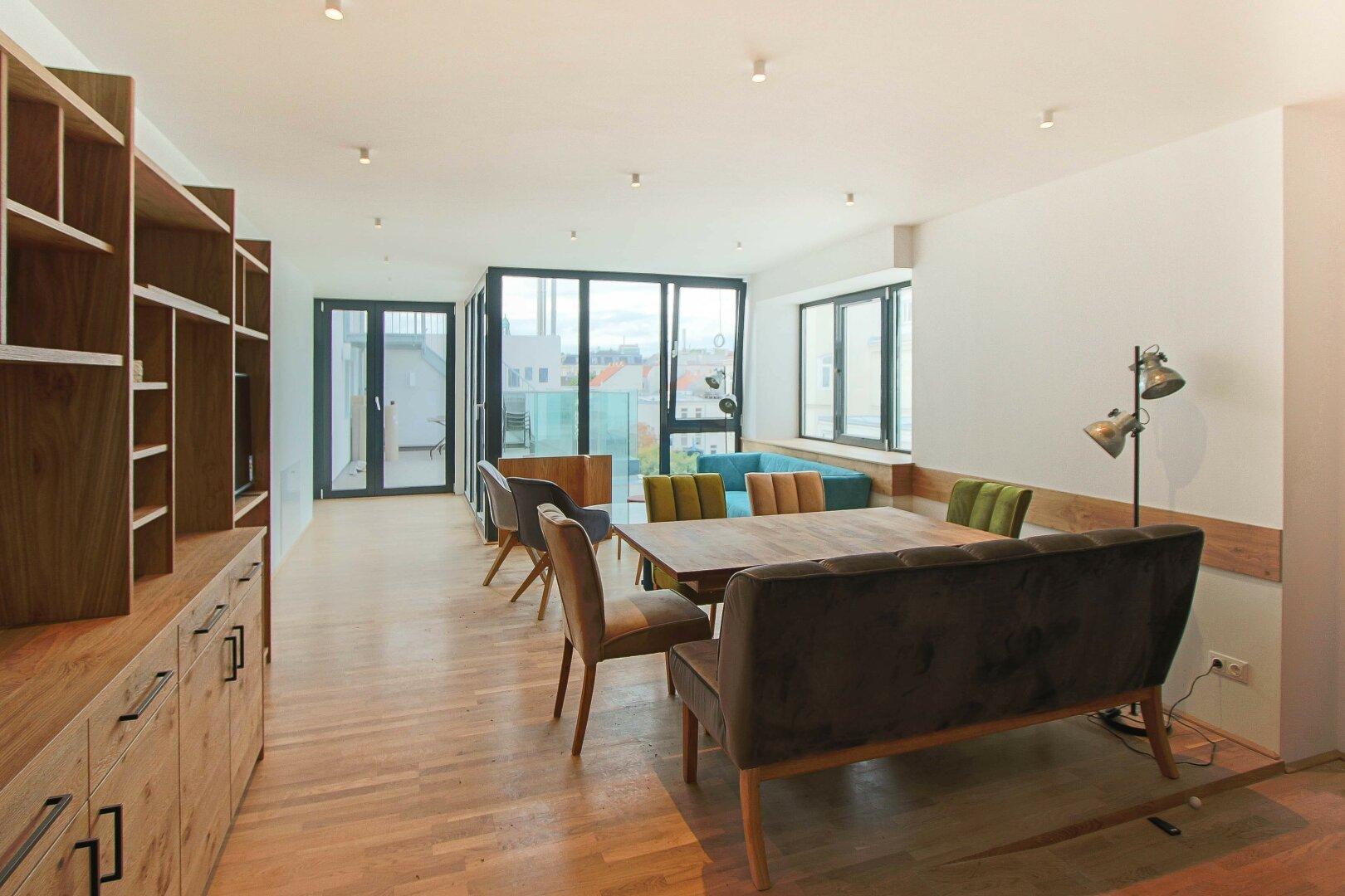 Co-Living Wohnbereich