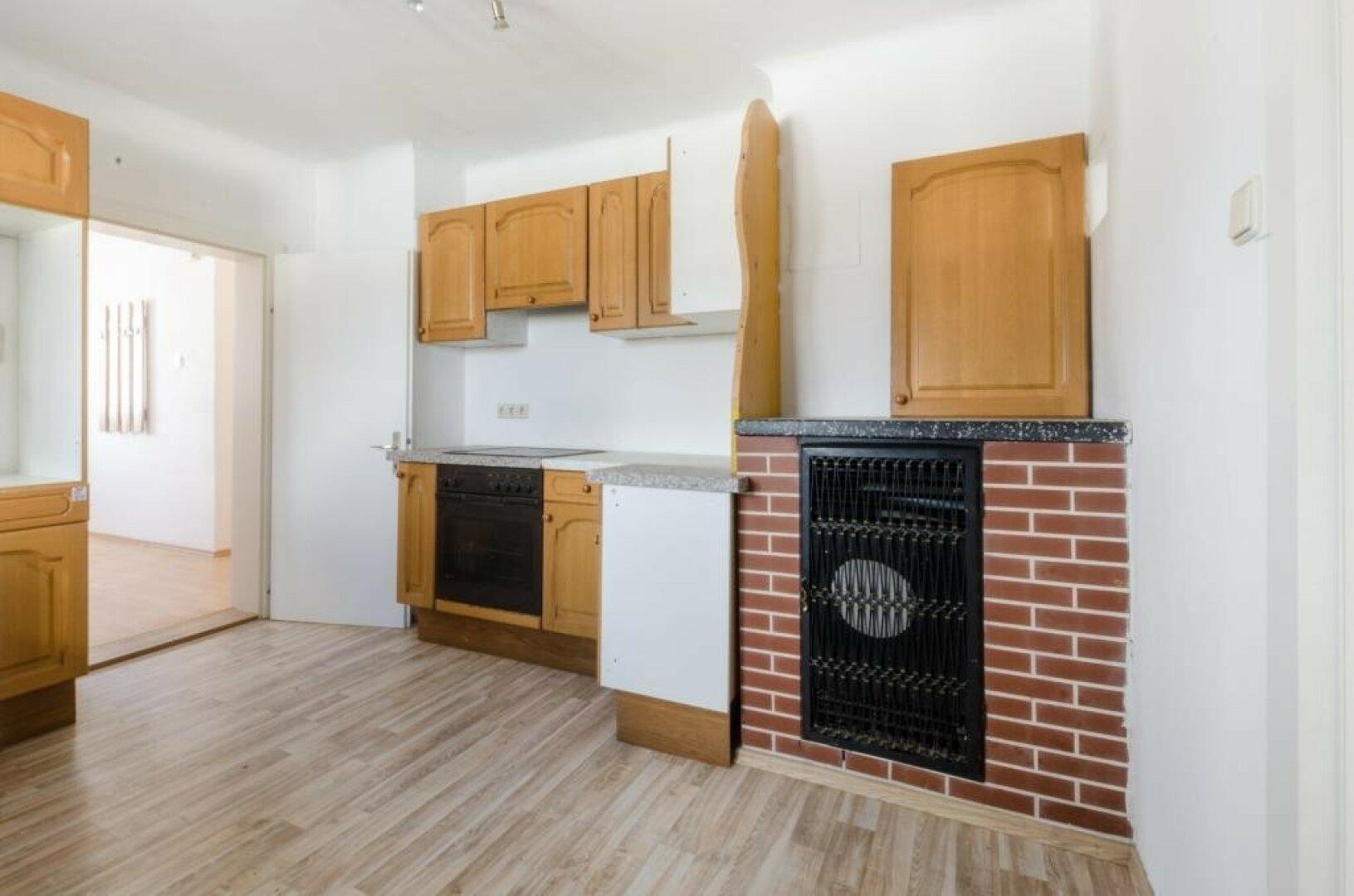Küche obere Wohnung