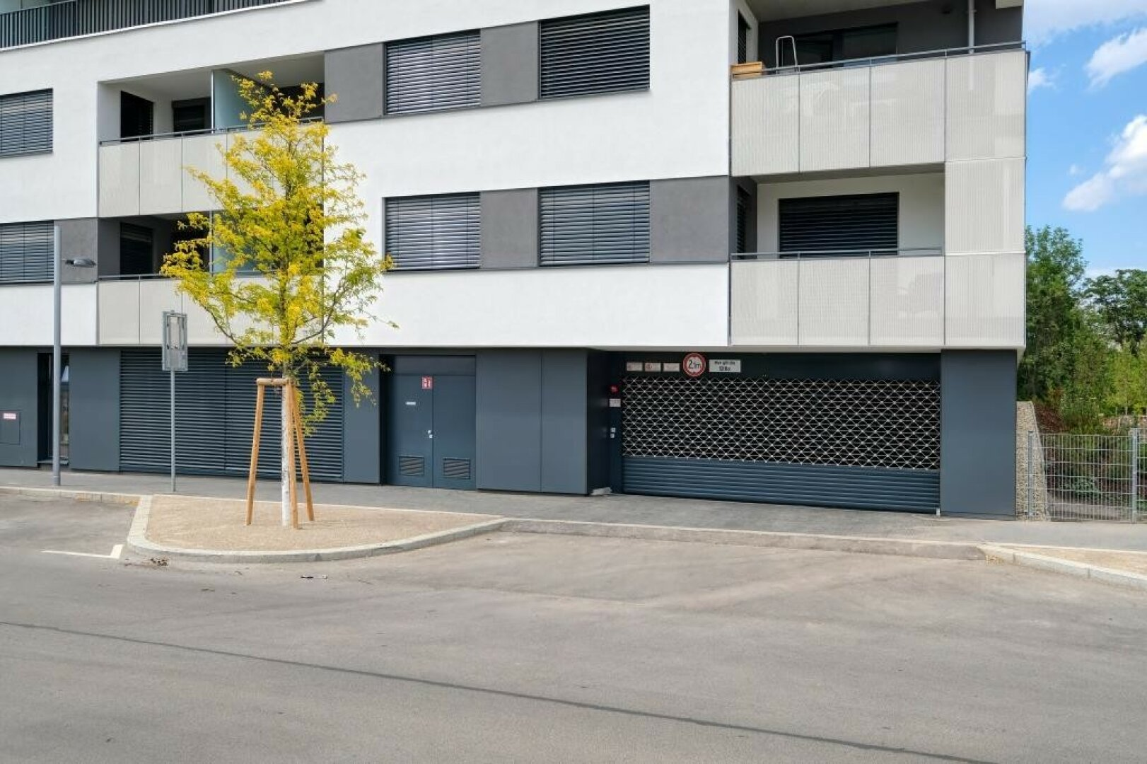 Garagen Einfahrt