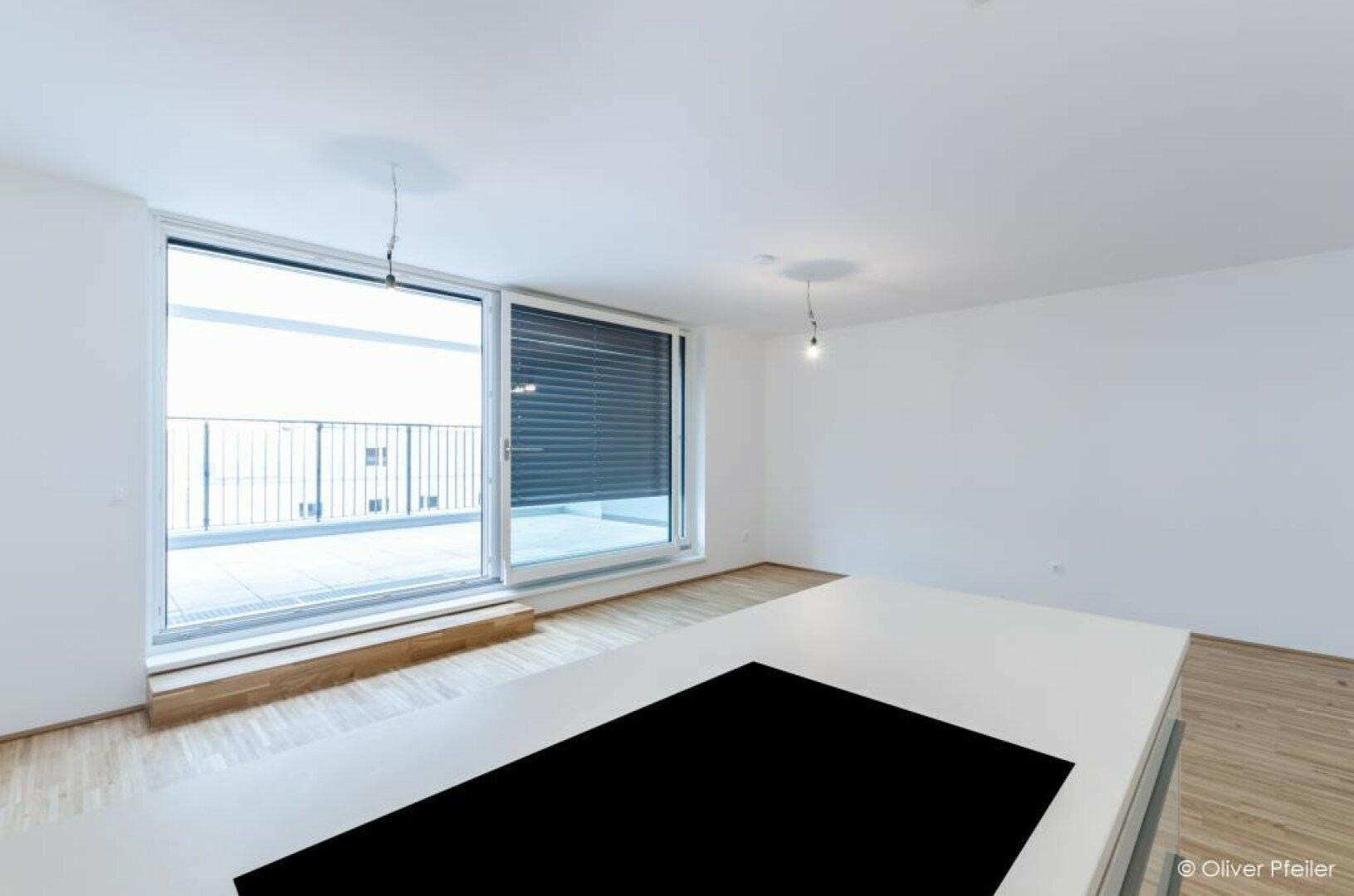 Küche Richtung Terrasse