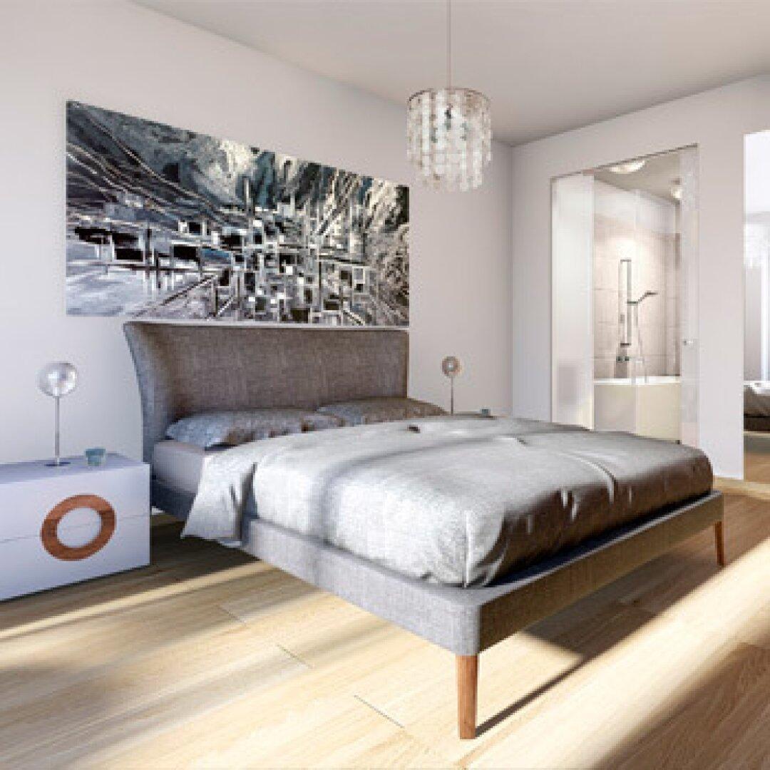 Musterfoto Schlafzimmer