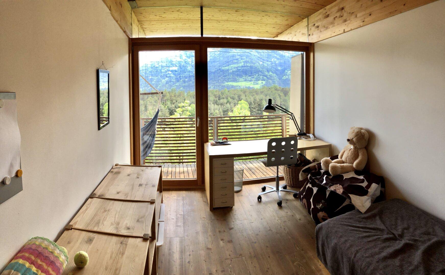 jedes Zimmer mit Zugang zur Terrasse