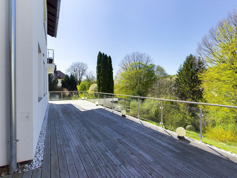 Terrasse am Vormittag
