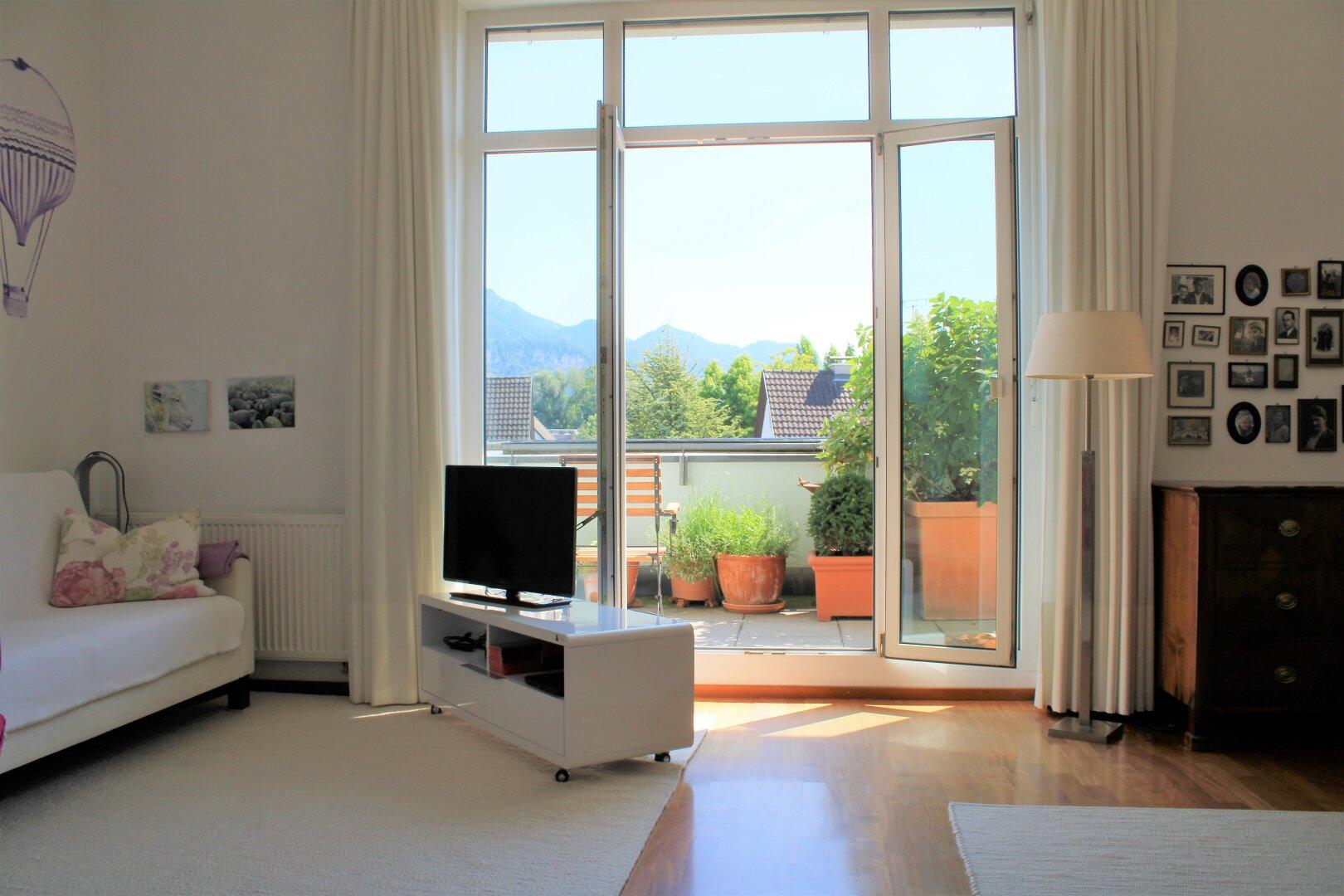 Bodentiefe Fenster - Doppelverglasung