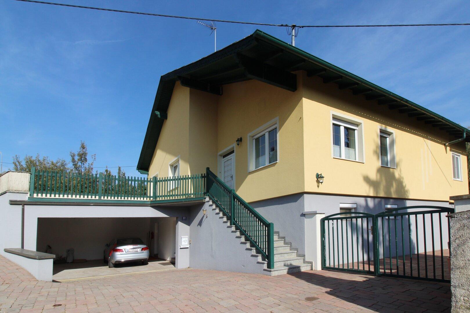 Das Haus mit dem westlichen Eingang