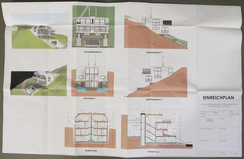 2.663 m² Baugrund in PENZING / Projektiert für 2 Doppelhäuser /  / 1140Wien / Bild 2