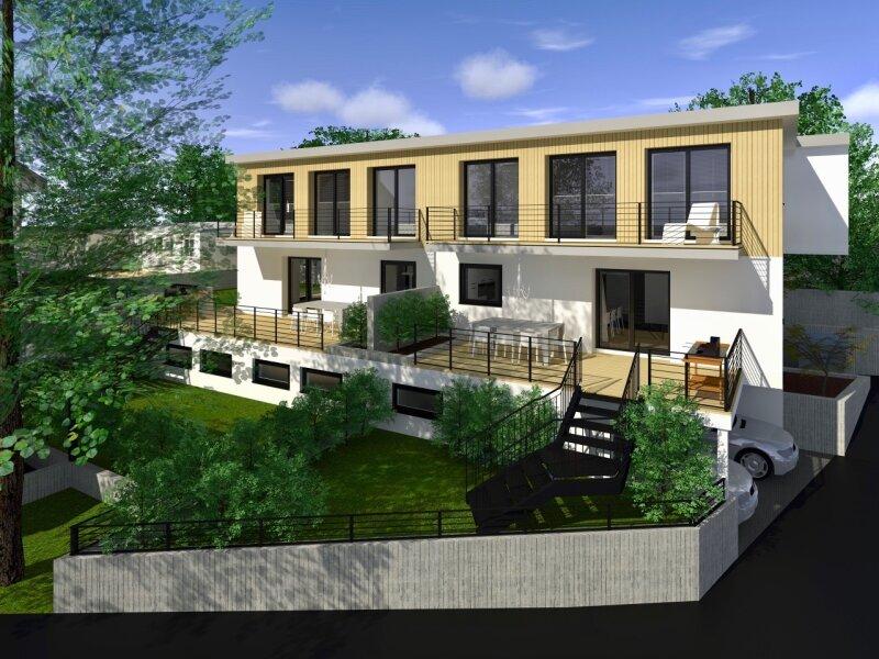 TERRASSENTRAUM - Elegante Doppelhaushälfte in Massivbauweise - schlüsselfertig - inklusive 2 Stellplätzen /  / 3021Pressbaum / Bild 0