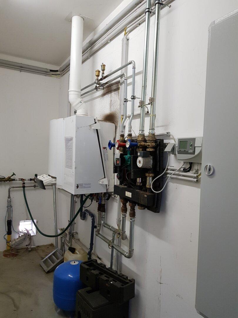 Gas Zentralheizung
